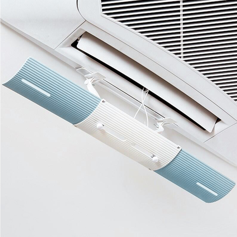 Hot Adjustable Air Conditioning Baffle Shield Telescopic Portable for Home Offices LFD