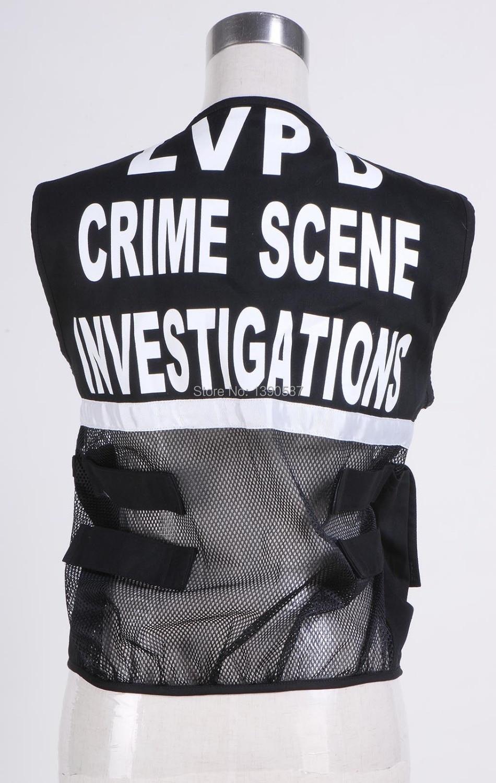 Vest of CSI Crime Scene Investigation Las Vegas Costume