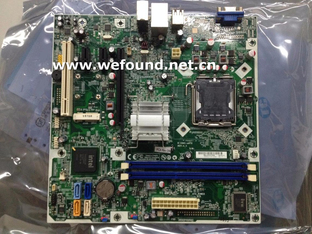 100% working desktop motherboard for G41 DDR3 H-IG41-uATX 608884-001 570949-001 mainboard fully tested стоимость