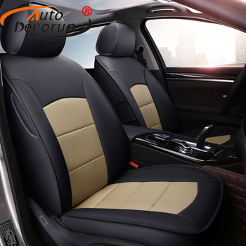 AutoDecorun Genuine Leather Automobiles Seat Covers for Mercedes-Benz GLE350 GLE 300 320 450 Coupe Seat Cover for Cars Styling