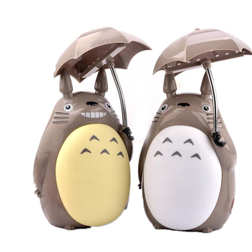 Kawaii Cartoon Novelty USB Lightings My Neighbor Totoro Lamp Led Night Light Reading Table Desk Lamps For Kids Gift Home Decor kawaii animal lamp 3d led night light lovely cartoon rabbit multicolor change table home child bedroom decor kids birthday gift