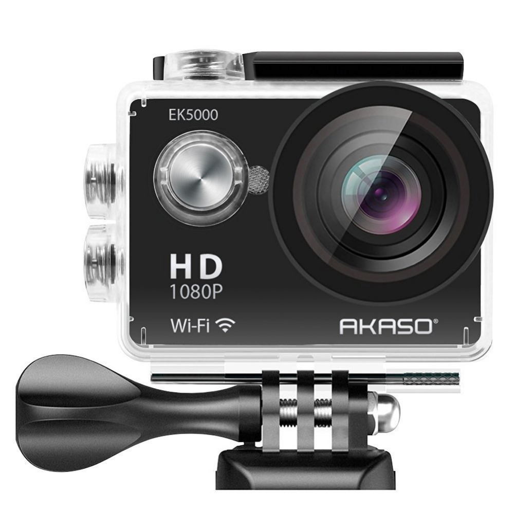 AKASO EK5000 WIFI Outdoor Action Camera Video Sports Camera wifi Ultra HD Waterproof DV 12MP 170 Degree Wide Angle цена и фото