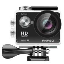 AKASO EK5000 WIFI Outdoor Action Camera Video Sports Camera wifi Ultra HD Waterproof DV 12MP 170 Degree Wide Angle
