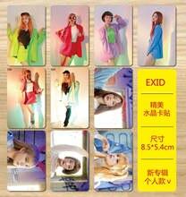 MYKPOP  EXID álbum de fotos etiqueta engomada cristalina Solji LE HaNi Seo  Hye-Rin Park Jung Hwa KPOP Fans artículos 10 unids s. 891831ceea26