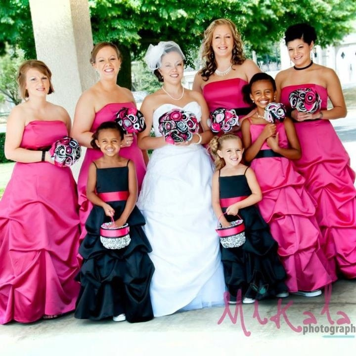 White Bridesmaid Dresses Black And Pink Baby Uk Royal Blue Bridesmaids Online Adult Strapless Built In Bra Sleeveless 2015 Cheap From