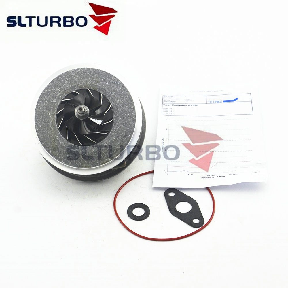 Balanced Turbocharger CHRA 717858-5009S Turbine Core 717858-5008S CHRA For Audi A6 2.0 TDI C6 103 Kw 140 HP BLB BRE BRF BVG BVF