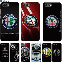 Desxz Tpu Cell Phone Case Alfa Romeo Logo For Huawei Honor 6A 7X 7A 7C 8 8X 8C 9 Note 10 P30 Lite Pro Cover Shell(China)