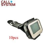 10 шт. ресивер наручные часы беспроводной Вызов официанта системы для ресторана кафе магазин