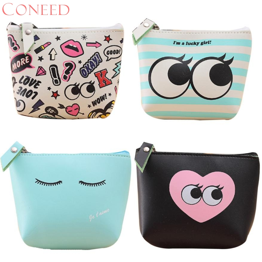 CONEED Best Gift Women Girls Cute Fashion Coin Purse Wallet Bag Change Pouch Key Holder Jn2 Y20