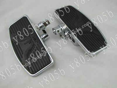 Adjust Driver Front Footboards Floorboards For Suzuki Boulevard C50 Volusia  800 C90 M109R C109 Marauder 800 M50 Intruder LC1500