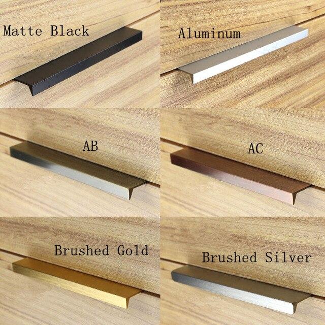 Aliexpress.com : Buy Modern simple cabinet door edge handle ...