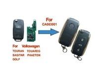 Keyecu 3 кнопки изменения Удаленное shell для Volkswagen Phaeton Touareg