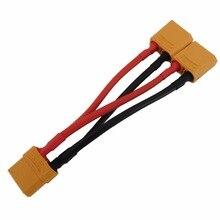 XT90 Параллельный разъем 12AWG батарея Y сплиттер кабель для FPV Lipo батареи