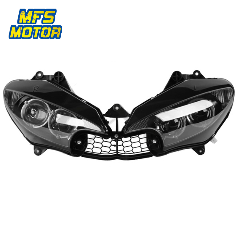 Headlight For 03-05 Yamaha YZF-R6 YZFR6 YZF R6 Motorcycle Front Lamp Assembly Upper Headlamp Head Light Housing 2003 2004 2005 for chery riich m1 headlights headlight assembly front lights light headlamp 1pcs