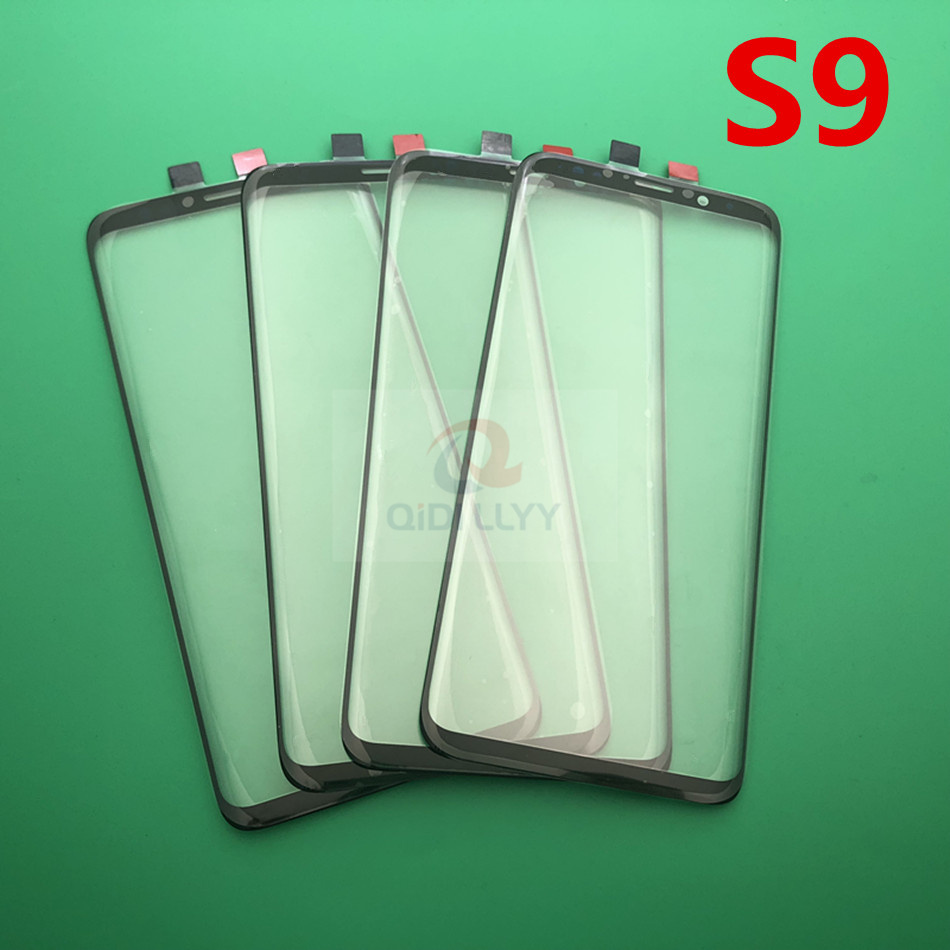 10pcs lot Replacement External Glass for Samsung Galaxy S9 G960 G960F 5 8 LCD Display Touch