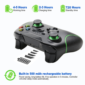 Image 3 - 2.4G وحدة تحكم لاسلكية غمبد ل Xbox One وحدة التحكم ل PC win 7/8/10 ل PS3 وحدة التحكم ل أندرويد/الهاتف/التلفزيون المقود