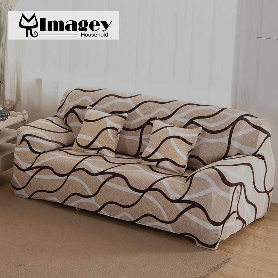 Elastic Sofa Cover Sofa Slipcover 1/2/3/4 Seat Sofa Cover  Single/Two/Three/Four Seater Stretch Sofa Cover Tightly Wrap 1 Piece In Sofa  Cover From Home ...