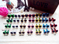 70pairs mixed size/ color safety eyes for amigurumi teddy bear 4 sizes 7 colors can be choose 8mm/9mm/10mm/12mm