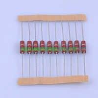 10 pcs Carbono Resistor 0.5 w 1.5 k ohm Composição do vintage