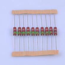 10pcs Carbon Composition vintage Resistor 0.5W 1.5K ohm 5 % 10pcs carbon composition vintage resistor 0 5w 2 2m ohm 5