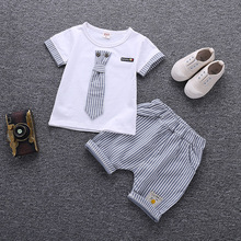 Children Clothing Set Baby Boy Clothes Summer Cartoon 2018 New Kids Cotton Cute Sets Outfit Costumes