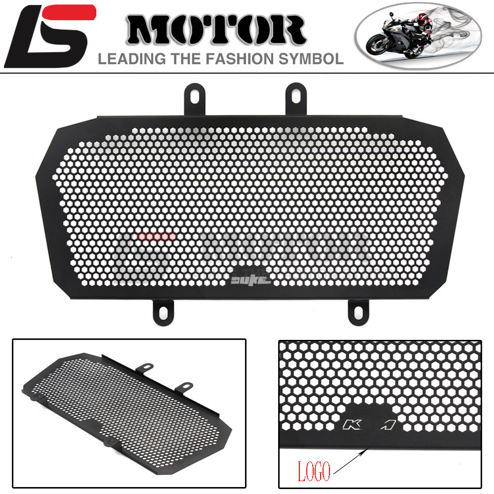 Motorcycle Engine Radiator Bezel Grill Grille Guard Cover Protector Stainless Steel Fit For KTM DUKE 390 2013-2016 arashi motorcycle radiator grille protective cover grill guard protector for 2008 2009 2010 2011 honda cbr1000rr cbr 1000 rr