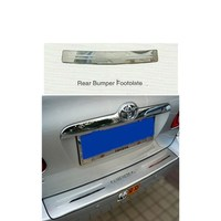 For Toyota COROLLA 2003 Stainless Steel REAR BUMPER FOOTPLATE Car Styling Exterior Accessories