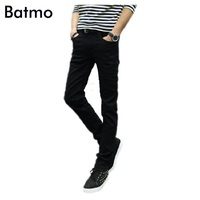 2014 Male Black Skinny Jeans Men S Clothing Trend Slim Small Trousers Male Casual Trousers Large