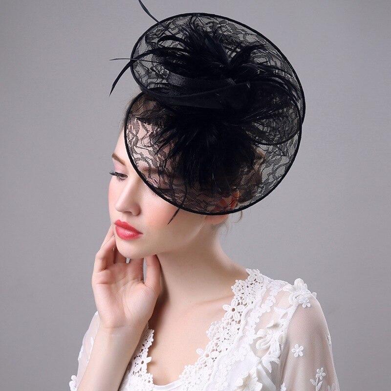 Wedding Vintage Style Hair Accessories: 2018 British Retro Lace Female Hair Accessories Fashion