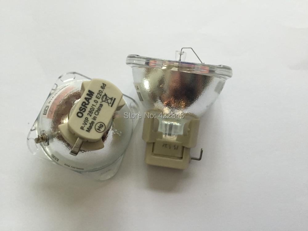 все цены на free shipping 5J.07E01.001 genuine projector bare lamp bulb Osram P-VIP 280/1.0 E20.6 for BenQ MP771 projector lamp онлайн