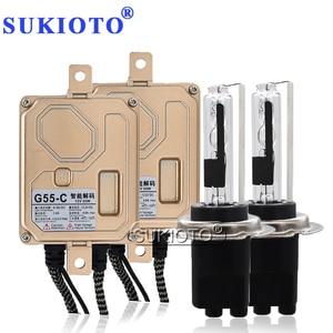 Image 1 - SUKIOTO 55W CANBUS NO Error Xenon H7CR HID Kit Headlight Lamp Bulb 4300K 5000K 6000K 8000K AC Ballast EMC Car Accessory Light