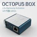 Caixa De Polvo com 19 flash completo ativado Conjunto Completo de Cabos para LG e Samsung Unlock Flash & Repair software transporte rápido