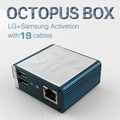 Full activated Octopus Box with 19 flash Full Cable Set for LG and for Samsung Unlock Flash & Repair software fast shipping