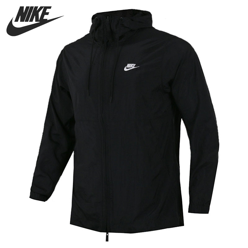 Original New Arrival 2018 NIKE Men's Jacket Hooded Sportswear original nike men s black knitted jacket hooded sportswear