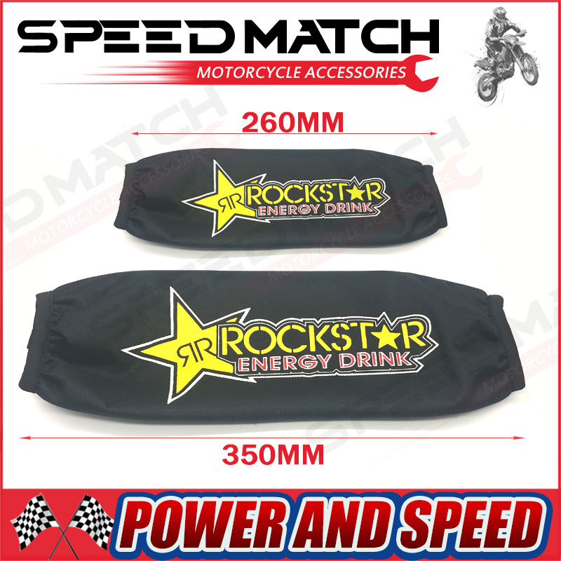 26 cm 34 cm Motor Belakang Garpu Shock Absorber Sampul Protector Guard Suspensi Sampul Wrap Set Untuk Dirt Bike Pit Pro