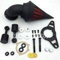 Motorcycle Air Cleaner filtro para Harley Davidson Softail Fat Boy Dyna Wide Glide Rua Bob Chrome