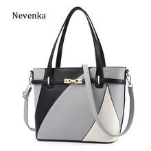 Nevenka Neue Design Frauen Mode-stil Handtasche Weiblichen Luxus Ketten Taschen Pailletten Reißverschluss Umhängetasche Qualität Pu-leder Tote
