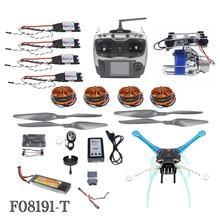 JMT High-powered DIY GPS Drone APM GPS M8N 700KV 30A 4400MAH 30C 4-Axis Aircraft Racer with Camera Gimbal PTZ