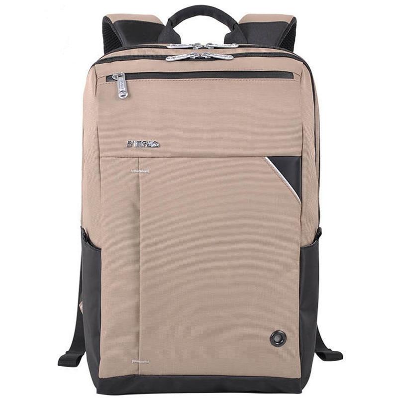 ФОТО 2017 New Fashion Slim Women Men Laptop Backpack Waterproof Unisex Schoolbags For 15-17 Inch Apple HP Thinkpad Notbook Cpmputer
