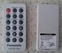 Original Projector Remote Control for Panasonic PT CW240/PT CX270/TW330U/PT UW275C/PT UX273C/PT UX325C/PT UX352C/PT UW326C