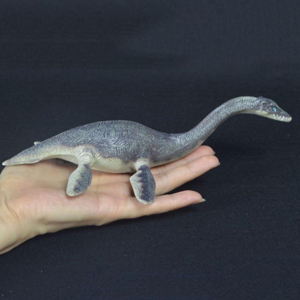 20cm Plesiosaur Realistic Dinosaur Animal Figure Solid Plastic Toy Model Biology Learning & Education