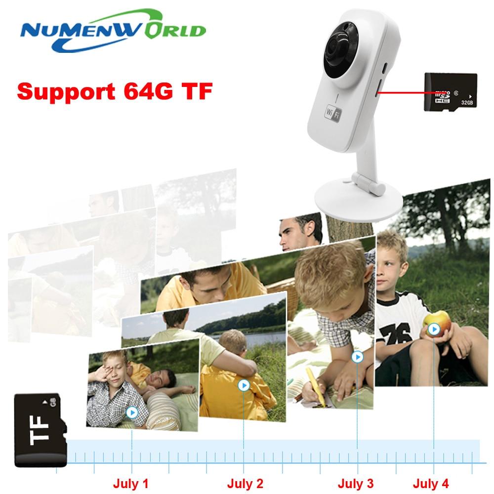 Mini cámara IP HD Wifi inalámbrica, 720P, tarjeta SD TF, P2P, Monitor de bebé, cámara de seguridad CCTV, cámara de Móvil a distancia de protección para el hogar