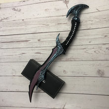 50CM PU Model Cosplay Game Weapon WOW Anti Mage Scythe of Vyse Elf Weapon Prop Role Play Model(China)