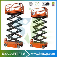 6 m до 12 m гидравлический приводной Self Moving Scissor Lift с Ce