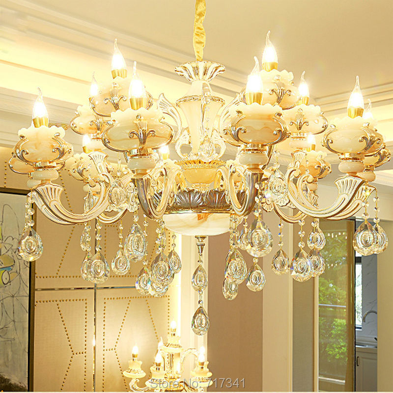 Led Crystal Chandelier 6 8 Arms10 Arms 15 Arms High-quality Luxury Living Room Bedroom Hall Dedicated Dhl Or Fedex Shipping european luxury crystal candle chandelier romantic bedroom chandelier high quality living room chandelier