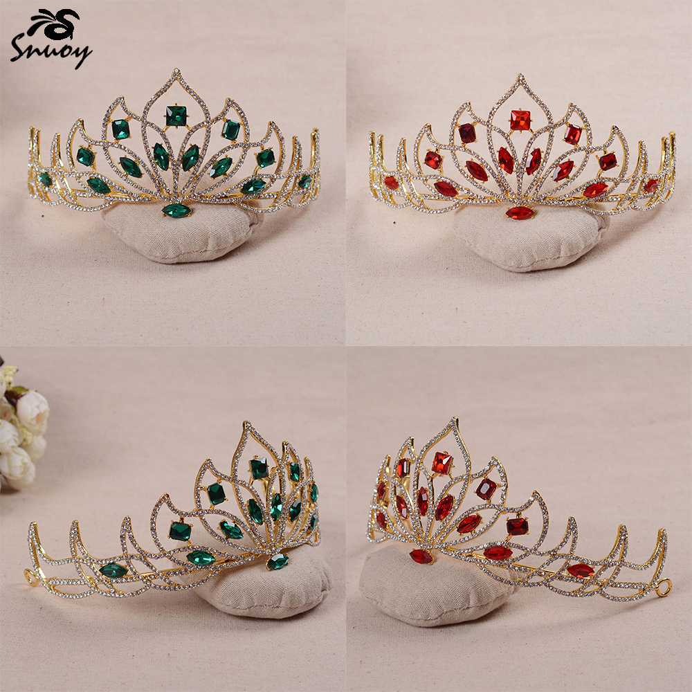 Snuoy Հարսանյաց Tiaras և Crowns կանանց համար - Նորաձև զարդեր - Լուսանկար 5