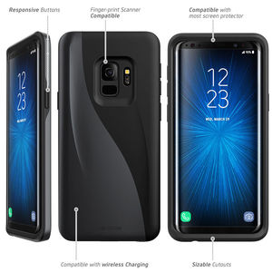 Image 5 - Original i Blason For Samsung Galaxy S9 Plus Case 2018 Release Luna Series Premium Hybrid TPU + PC Protective Case Back Cover