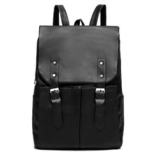 2019 Soft Pu Leather Backpack College Student Laptop Mochila Multifunction Water Repellent Travel Schoolbags Business Bagpack