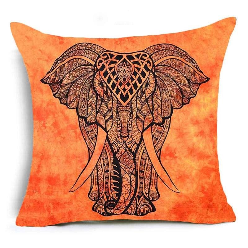 Hyha Bohemia Elephant Cushion Covers Indian Style Enchanting Indian Style Decorative Pillows