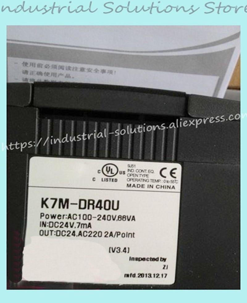 New Original K7M-DR40U PLC K7M-DR40U Programable Logic Controller K7M-DR40UNew Original K7M-DR40U PLC K7M-DR40U Programable Logic Controller K7M-DR40U